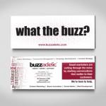 Buzzadelic Trade Show Flyer