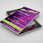 CT Nails Stylist Business Card Concept